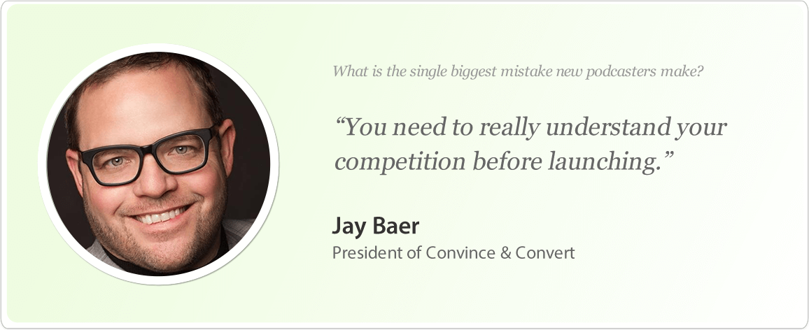 Jay Baer image and podcast tips.