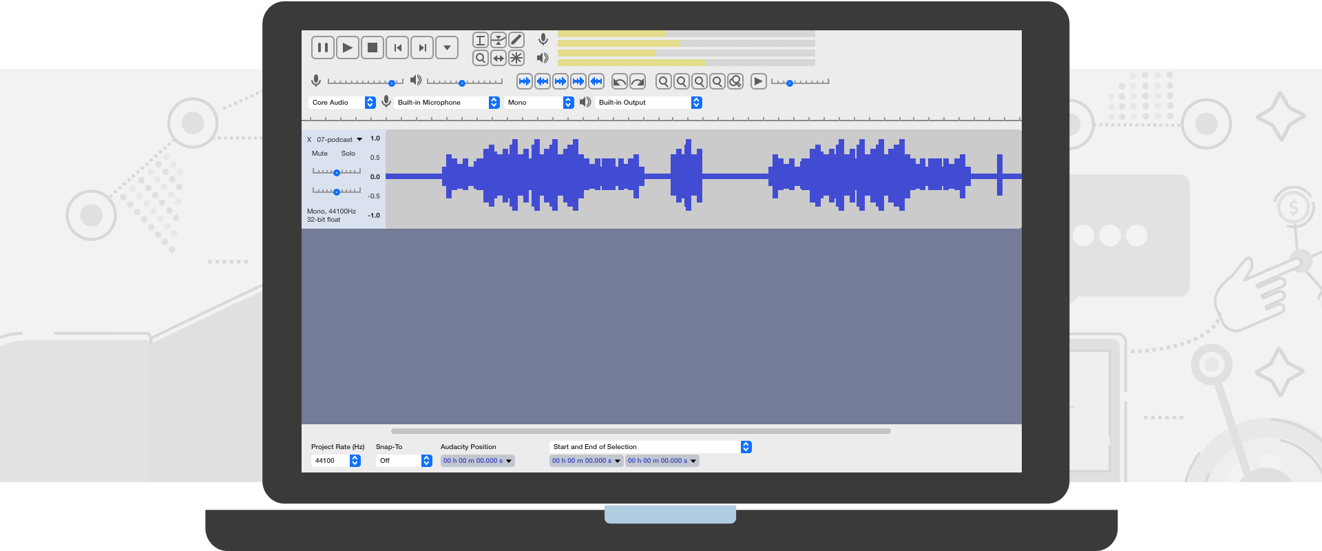 Audacity Tutorial for Podcasters: How to Setup, Record, and