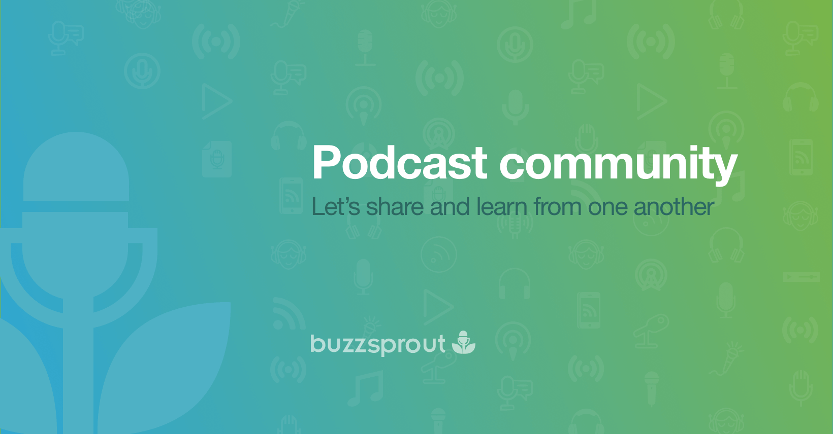 Buzzsprout podcast community