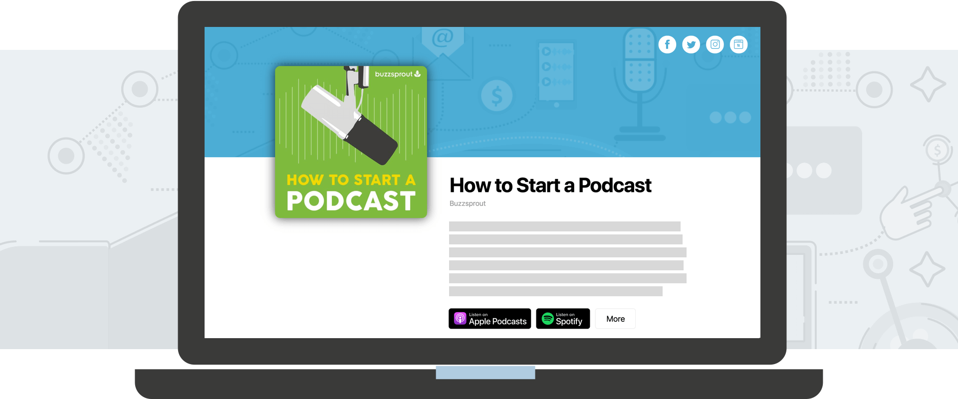 Introducing the New Buzzsprout Podcast Websites