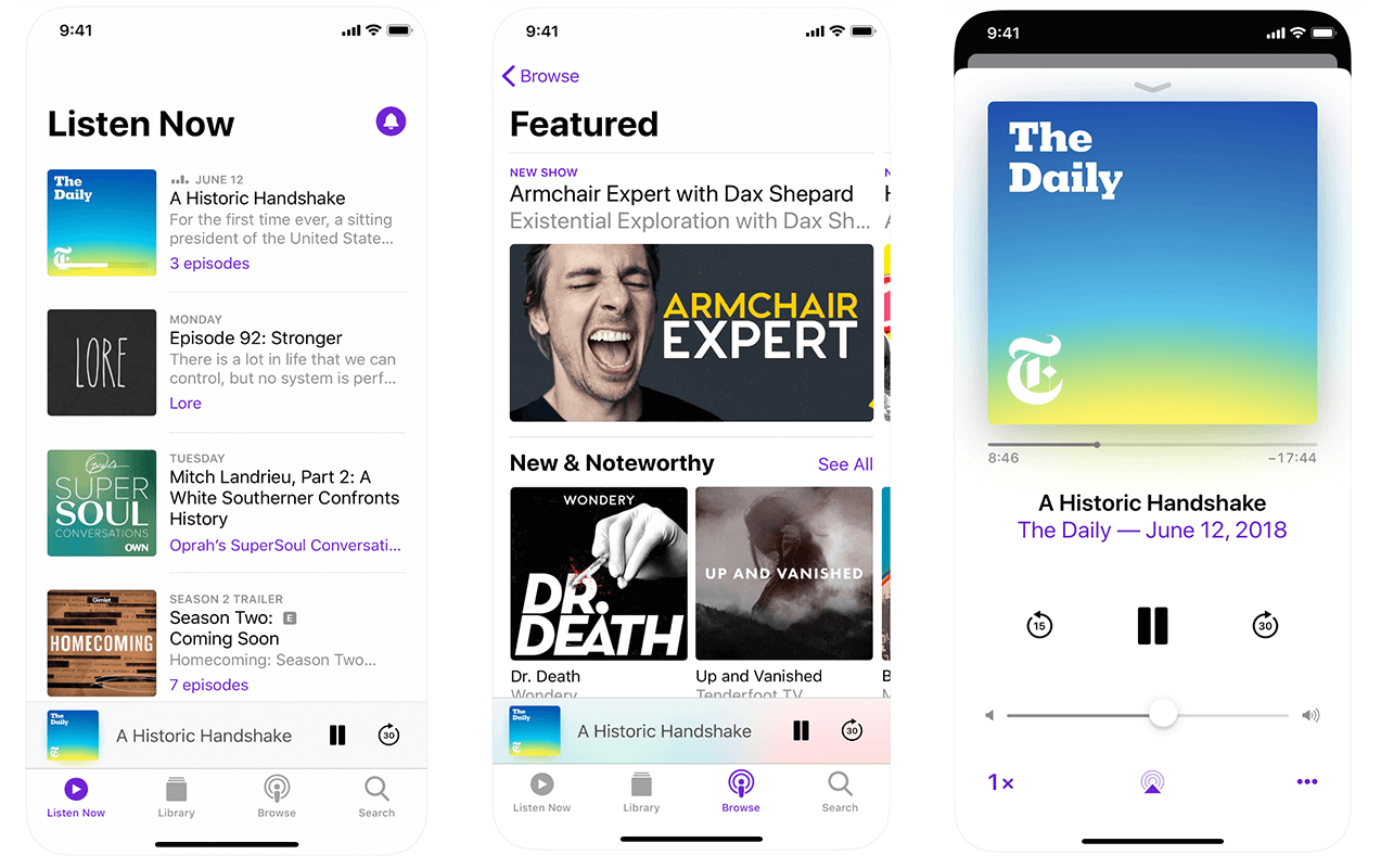 Apple Podcasts App