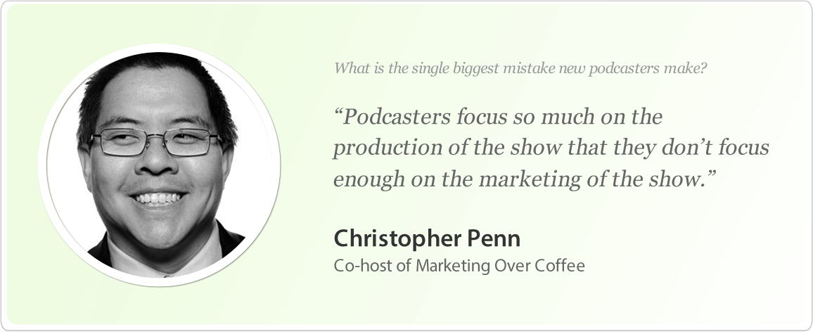 Christopher Penn's image and podcast tips.
