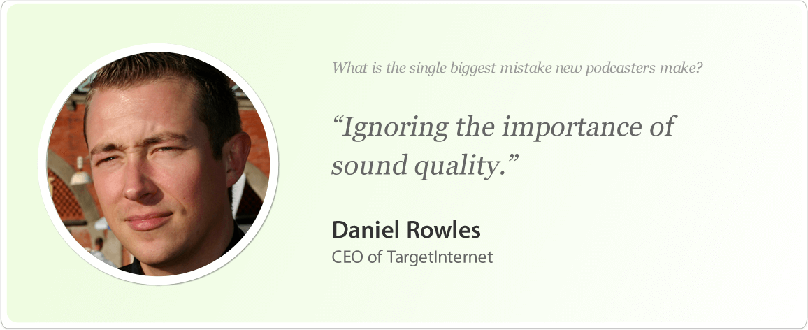 Daniel Rowles image and podcast tips.