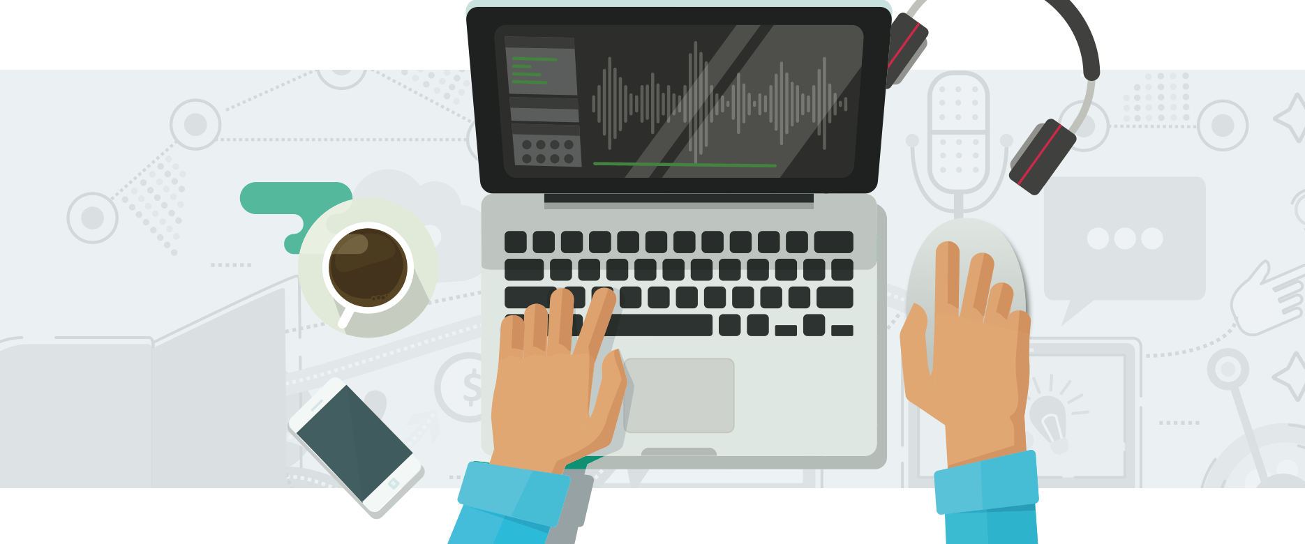 Podcasting as part of a marketing strategy