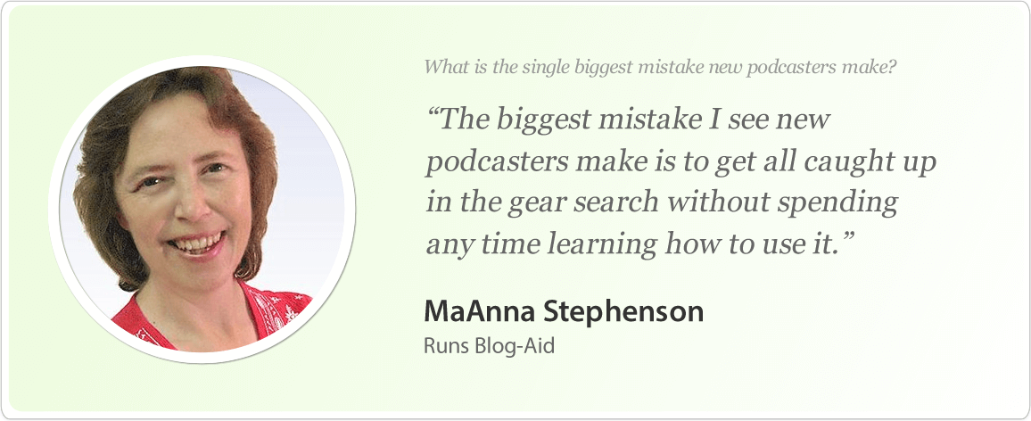 MaAnna Stephenson image and podcast tips.